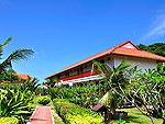 クラビ オーシャンビューのホテル : ピピ エラワン パーム リゾート(P.P. Erawan Palms Resort)のスタンダードルームの設備 Building View