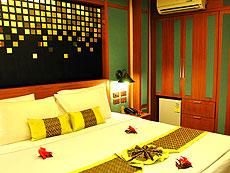 クラビ オーシャンビューのホテル : ピピ エラワン パーム リゾート(1)のお部屋「スタンダード」
