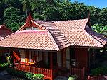 クラビ オーシャンビューのホテル : ピピ エラワン パーム リゾート(P.P. Erawan Palms Resort)のデラックス バンガロールームの設備 Bungalow