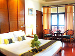 クラビ オーシャンビューのホテル : ピピ エラワン パーム リゾート(P.P. Erawan Palms Resort)のデラックス バンガロールームの設備 Room View