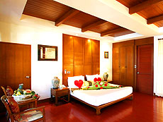 クラビ オーシャンビューのホテル : ピピ エラワン パーム リゾート(1)のお部屋「デラックス バンガロー」