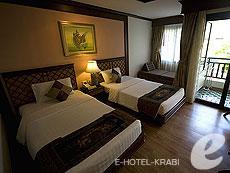 Deluxe Room : พี.พี. ปาล์มทรี รีสอร์ท, เกาะพีพี