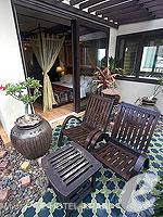 Balcony : Palmtree Suite (เกาะพีพี) โรงแรมในกระบี่, ประเทศไทย