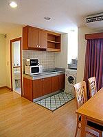 パタヤ シラチャーのホテル : パシフィック パーク ホテル & レジデンス(Pacific Park Hotel & Residence)のエグゼクティブ スタンダード(ホテル ウィング)ルームの設備 Kitchen