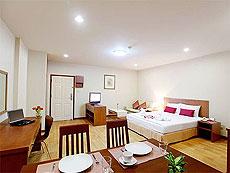 パタヤ シラチャーのホテル : パシフィック パーク ホテル & レジデンス(1)のお部屋「エグゼクティブ スタンダード(ホテル ウィング)」
