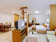 パタヤ シラチャーのホテル : パシフィック パーク ホテル & レジデンス(1)のお部屋「スーペリア (ホテルウィング)」