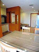 パタヤ シラチャーのホテル : パシフィック パーク ホテル & レジデンス(Pacific Park Hotel & Residence)のエグゼクティブ スーペリア(ホテル ウィング)ルームの設備 Dining