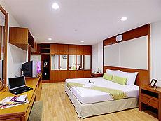 パタヤ シラチャーのホテル : パシフィック パーク ホテル & レジデンス(1)のお部屋「エグゼクティブ スーペリア(ホテル ウィング)」