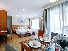パタヤ シラチャーのホテル : パシフィック パーク ホテル & レジデンス(1)のお部屋「エグゼクティブ デラックス コーナー(ホテル ウィング)」