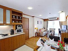 パタヤ シラチャーのホテル : パシフィック パーク ホテル & レジデンス(1)のお部屋「スイート (ホテルウィング)」