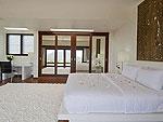 サムイ島 チョンモーンビーチのホテル : パノラマ スミット(Panorama Summit)の3ベッドルームルームの設備 Bedroom