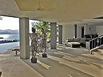 サムイ島 チョンモーンビーチのホテル : パノラマ スミット(Panorama Summit)の3ベッドルームルームの設備 To Private Pool