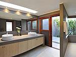 サムイ島 チョンモーンビーチのホテル : パノラマ スミット(Panorama Summit)の3ベッドルームルームの設備 Bath Room