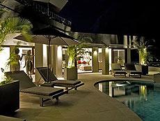 サムイ島 チョンモーンビーチのホテル : パノラマ スミット(1)のお部屋「3ベッドルーム」