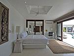 サムイ島 チョンモーンビーチのホテル : パノラマ スミット(Panorama Summit)の4ベッドルームルームの設備 Bedroom