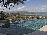 サムイ島 チョンモーンビーチのホテル : パノラマ スミット(Panorama Summit)の4ベッドルームルームの設備 Private Pool