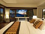 サムイ島 チョンモーンビーチのホテル : パノラマ スミット(Panorama Summit)の5ベッドルームルームの設備 Bedroom