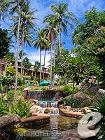 サムイ島 オーシャンビューのホテル : パンヴィマン リゾート コ パンガン 「Garden」