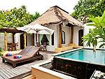Private Pool : Beach Front Pool Villa at Paradee Resort, Beach Front, Pattaya