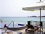 Terrace : Suite Villa (1Bedroom) at Paradee Resort, Beach Front, Pattaya