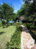 クラビ ピピ島のホテル : パラダイス パール バンガロー 「Garden」