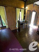 Room View : Thai House Beach Front(K) (มาเป็นครอบครัว&หมู่คณะ) โรงแรมในกระบี่, ประเทศไทย