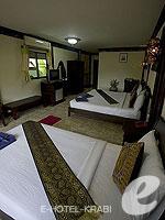 Room View : Deluxe (มาเป็นครอบครัว&หมู่คณะ) โรงแรมในกระบี่, ประเทศไทย