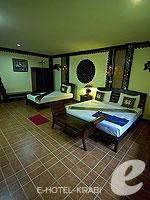 Room View : Family Room A Not Beach Front(P) (มาเป็นครอบครัว&หมู่คณะ) โรงแรมในกระบี่, ประเทศไทย