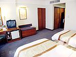 バンコク サイアム・プラトゥーナムのホテル : パトゥムワン プリンセス ホテル(Pathumwan Princess Hotel)のスーペリアルームの設備 Bedroom
