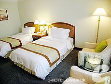 バンコク サイアム・プラトゥーナムのホテル : パトゥムワン プリンセス ホテル(Pathumwan Princess Hotel)のお部屋「スーペリア」