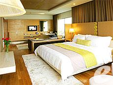 バンコク サイアム・プラトゥーナムのホテル : パトゥムワン プリンセス ホテル(Pathumwan Princess Hotel)のお部屋「ホテルスイート」