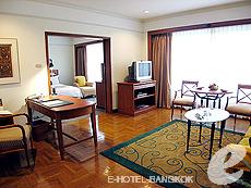 バンコク サイアム・プラトゥーナムのホテル : パトゥムワン プリンセス ホテル(Pathumwan Princess Hotel)のお部屋「エグゼクプラススイート」