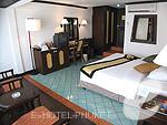 プーケット ビーチフロントのホテル : パトン ベイ ガーデン リゾート(Patong Bay Garden Resort)のスーペリアルームの設備 Bedroom