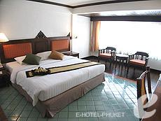 プーケット ビーチフロントのホテル : パトン ベイ ガーデン リゾート(1)のお部屋「スーペリア」