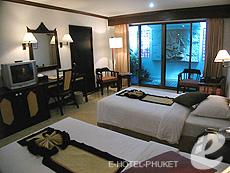 プーケット ビーチフロントのホテル : パトン ベイ ガーデン リゾート(1)のお部屋「デラックス シティ」