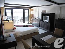 プーケット ビーチフロントのホテル : パトン ベイ ガーデン リゾート(1)のお部屋「デラックス バルコニー」