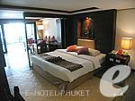 プーケット ビーチフロントのホテル : パトン ベイ ガーデン リゾート(Patong Bay Garden Resort)のジュニア スイートルームの設備 Bedroom