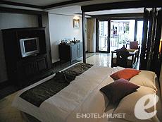 プーケット ビーチフロントのホテル : パトン ベイ ガーデン リゾート(1)のお部屋「ジュニア スイート」