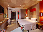 プーケット パトンビーチのホテル : パトン ビーチ ホテル(Patong Beach Hotel)のスーペリア(シングル)ルームの設備 Bedroom