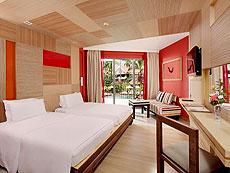 プーケット ファミリー&グループのホテル : パトン ビーチ ホテル(1)のお部屋「スーペリア(シングル)」