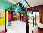 Bedroom : Deluxe (Twin / Double) at Patong Beach Hotel, Family & Group, Phuket