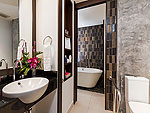 Bath Room : Deluxe (Twin / Double) at Patong Beach Hotel, Family & Group, Phuket