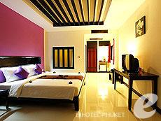 プーケット パトンビーチのホテル : パトン コテージ リゾート(1)のお部屋「デラックス コートヤード」