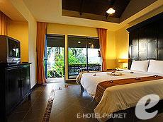 プーケット パトンビーチのホテル : パトン コテージ リゾート(1)のお部屋「デラックス コテージ」