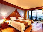 プーケット パトンビーチのホテル : パトン コテージ リゾート(Patong Cottage Resort)のデラックス シービュールームの設備 Room View