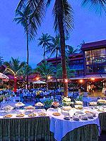 プーケット フィットネスありのホテル : パトン メルリン ホテル 「Restaurant」