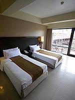 プーケット パトンビーチのホテル : パトン メルリン ホテル(Patong Merlin Hotel)のスーペリアルームの設備 Room View