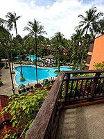 プーケット パトンビーチのホテル : パトン メルリン ホテル(Patong Merlin Hotel)のスーペリアルームの設備 Balcony