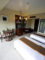 プーケット パトンビーチのホテル : パトン メルリン ホテル(Patong Merlin Hotel)のスーペリア(ツイン)ルームの設備 Room View
