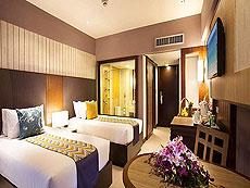 プーケット パトンビーチのホテル : パトン メルリン ホテル(1)のお部屋「スーペリア(ツイン)」